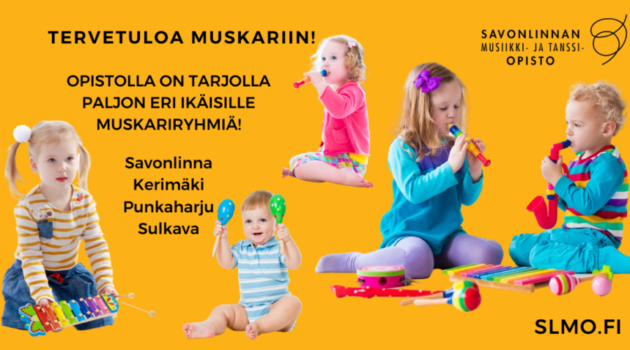 MUSKARIN TUTUSTUMISJAKSO 23.8.-3.9.